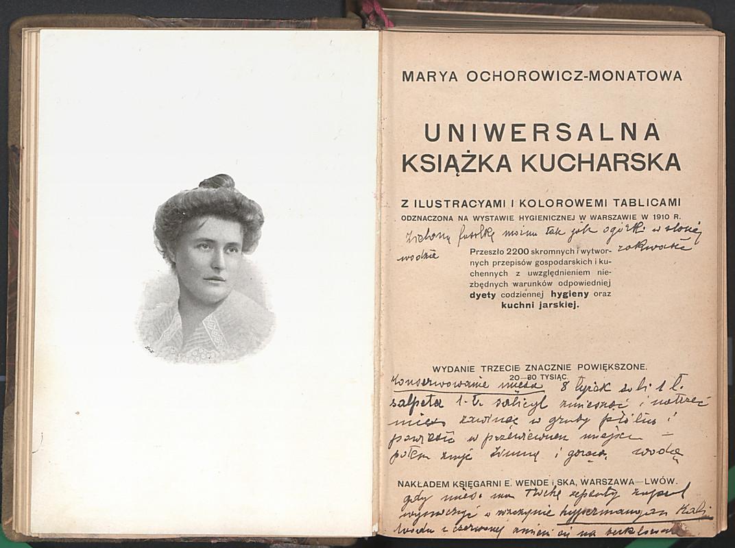 Uniwersalna Książka Kucharska Z Ilustracyami I Kolorowemi
