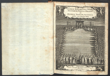 Gestorum populi Poloni sub Henrico Valesio  A. M. Fredro. 1652