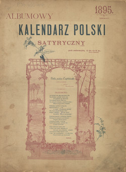 Albumowy Kalendarz Polski Satyryczny R 2 1895 Polona