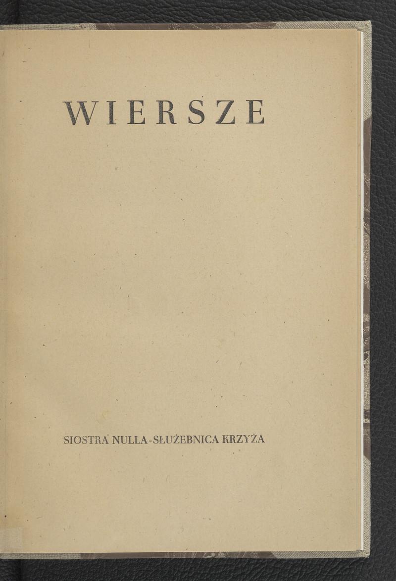 Wiersze Westwalewiczówna Lucyna Polona