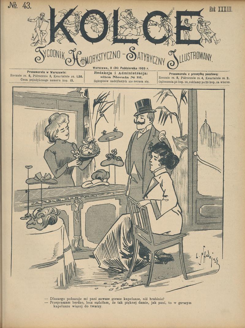 Kolce Kartki Humorystyczno Satyryczne R 33 Nr 43 24